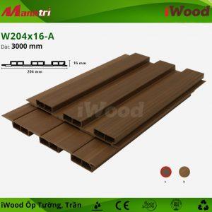 iwood ốp tường W204x16-a-2