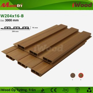 iwood ốp tường W204x16-b-2