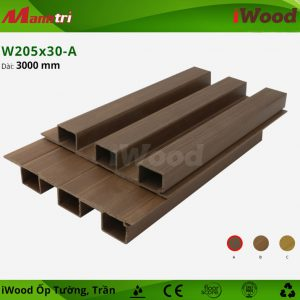 iwood ốp tường W205x30-a-1