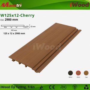 iWood ốp tường W125x12-cherry-1