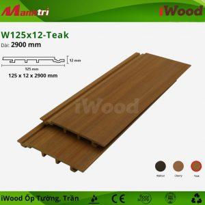 iWood ốp tường W125x12-teak-3