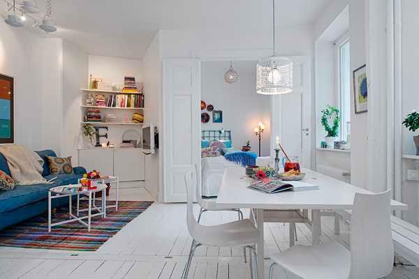Không gian nội thất được thiết kế mang phong cách Bắc Âu
