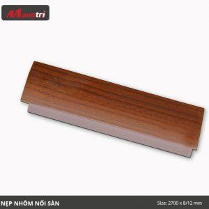 nẹp nối sàn vân gỗ