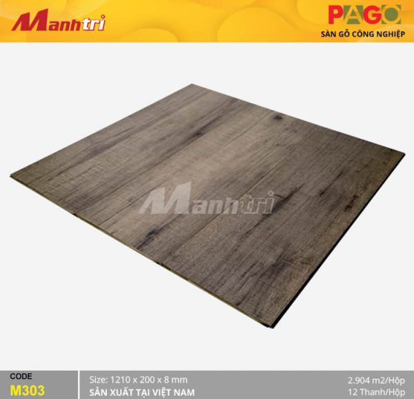 Sàn gỗ Pago M303 hình 2