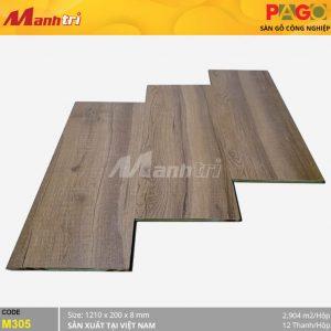 Sàn gỗ Pago M305 hình 1