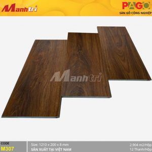 Sàn gỗ Pago M307 hình 2