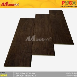 Sàn gỗ Pago M401 hình 1