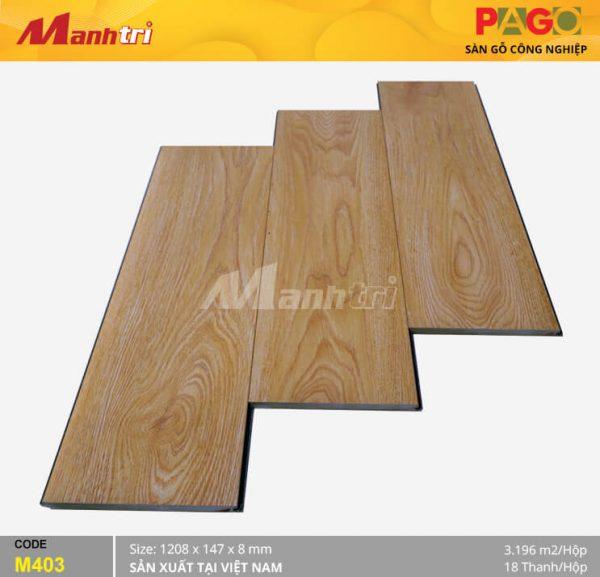 Sàn gỗ Pago M403 hình 1