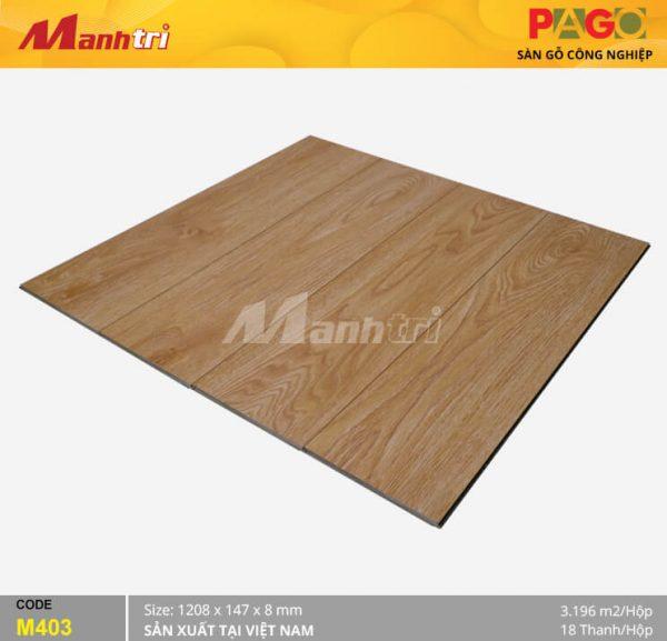 Sàn gỗ Pago M403 hình 2
