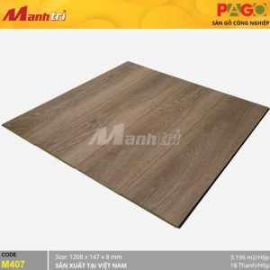 Sàn gỗ Pago M407 hình 1