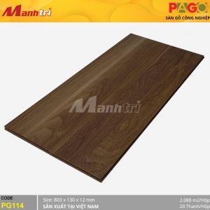 Sàn gỗ Pago PG114 hình 1