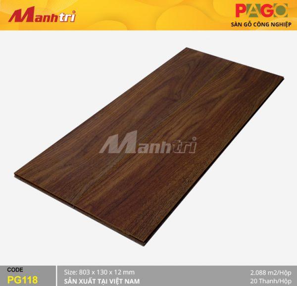 Sàn gỗ Pago PG118 hình 1