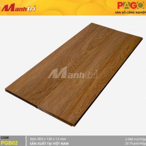Sàn gỗ Pago PGB02 hình 1