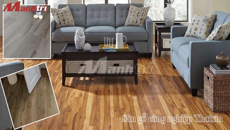 Sàn gỗ Thaixin - Sự lựa chọn hoàn hảo cho không gian nội thất nhà bạn.