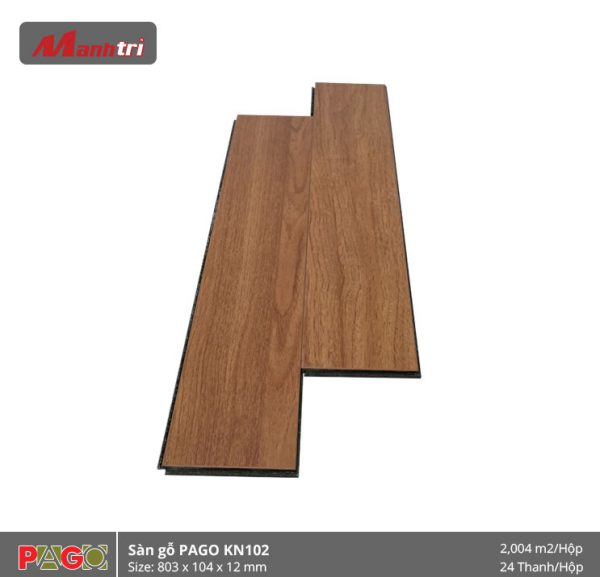 Sàn gỗ Pago KN102 hình 2