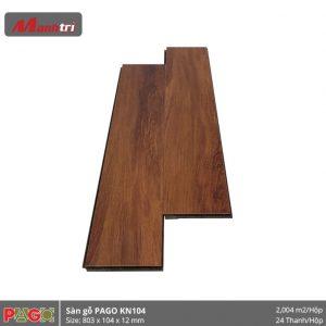 Sàn gỗ Pago KN104 hình 2