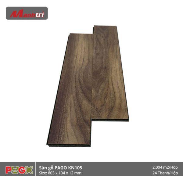 Sàn gỗ Pago KN105 hình 2
