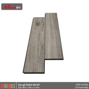 Sàn gỗ Pago KN107 hình 2