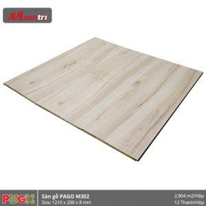 Sàn gỗ Pago M302 hình 2