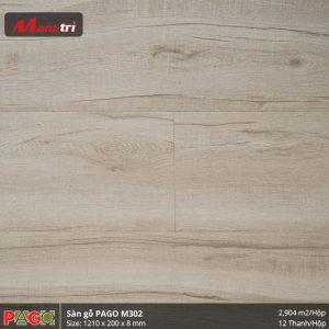 Sàn gỗ Pago M302 hình 3