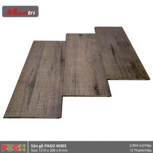 Sàn gỗ Pago M303 hình 1