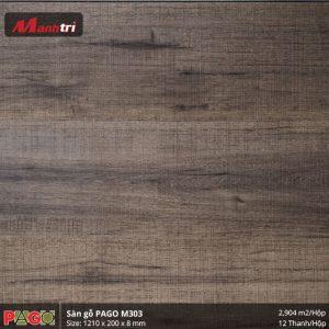 Sàn gỗ Pago M303 hình 3