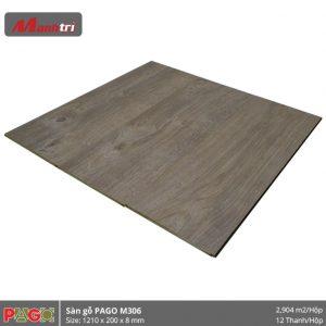 Sàn gỗ Pago M306 hình 2