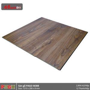 Sàn gỗ Pago M308 hình 2