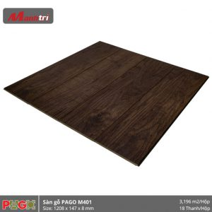 Sàn gỗ Pago M401 hình 2