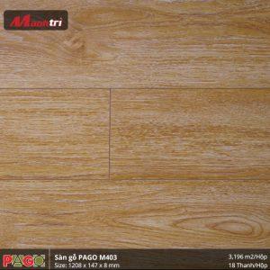 Sàn gỗ Pago M403 hình 3