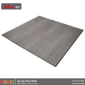 Sàn gỗ Pago M404 hình 2