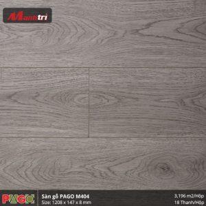 Sàn gỗ Pago M404 hình 3