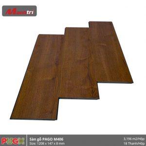 Sàn gỗ Pago M406 hình 1