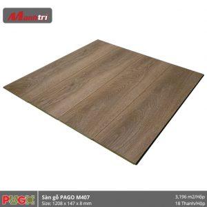 Sàn gỗ Pago M407 hình 2
