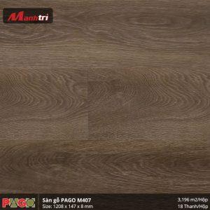 Sàn gỗ Pago M407 hình 3