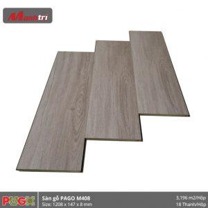 Sàn gỗ Pago M408 hình 1