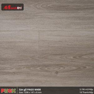 Sàn gỗ Pago M408 hình 3