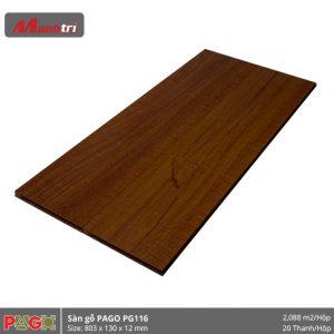 Sàn gỗ Pago PG116 hình 2