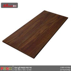Sàn gỗ Pago PG118 hình 2