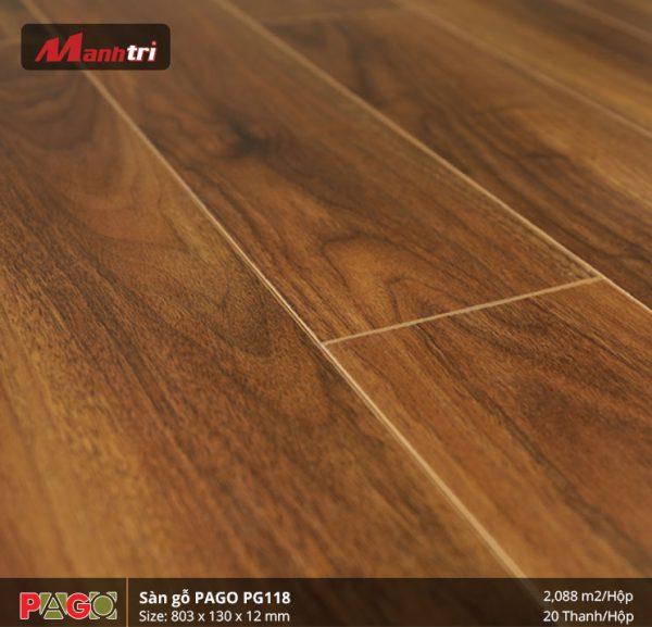 Sàn gỗ Pago PG118 hình 3