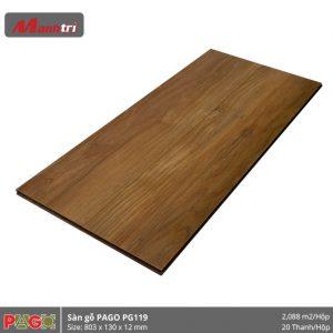 Sàn gỗ Pago PG119 hình 2