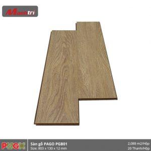 Sàn gỗ Pago PGB01 hình 1