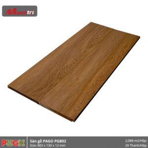 Sàn gỗ Pago PGB02 hình 2