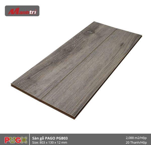 Sàn gỗ Pago PGB03 hình 2