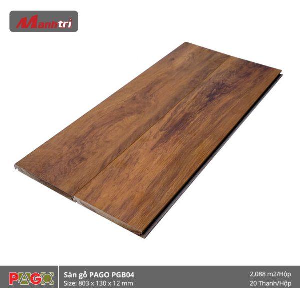 Sàn gỗ Pago PGB04 hình 2