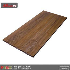 Sàn gỗ Pago PGB07 hình 2