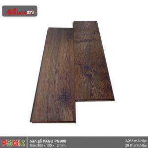 Sàn gỗ Pago PGB08 hình 1