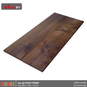Sàn gỗ Pago PGB08 hình 2