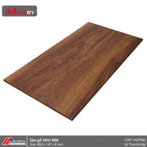 Sàn gỗ Redsun R86 hình 2