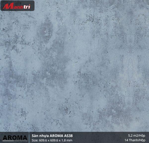 sàn nhựa Aroma AS38